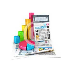 3d accounting concept