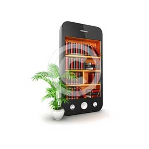 3d library smartphone