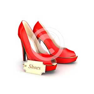 3d high heels shoes
